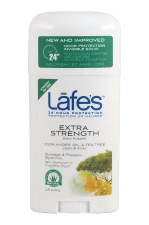 Lafe's Desodorante Twist Extra Strength Coentro e Tea Tree 63g