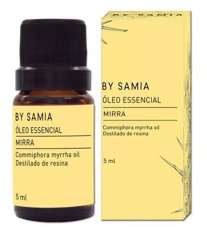 By Samia Óleo Essencial de Mirra 5ml