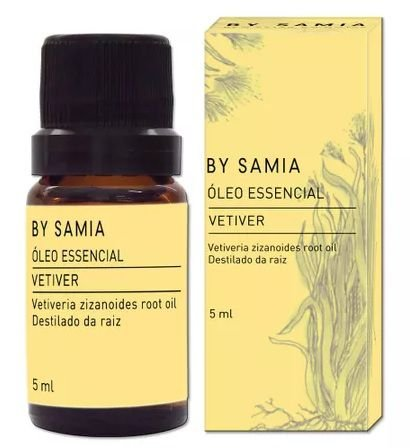 By Samia Óleo Essencial de Vetiver 5ml