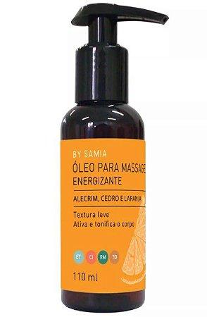 By Samia Energizante Óleo para Massagem com Alecrim 110ml