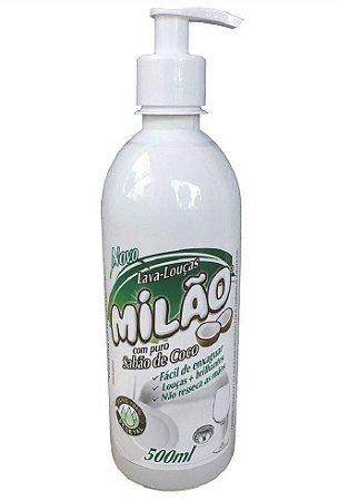 Milão Sabão de Coco Líquido Lava Louças 500ml