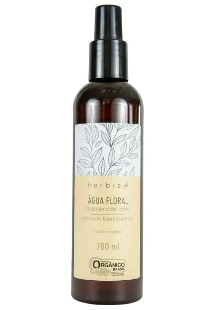 Herbia Água Floral de Manjericão Anis Orgânica 200ml