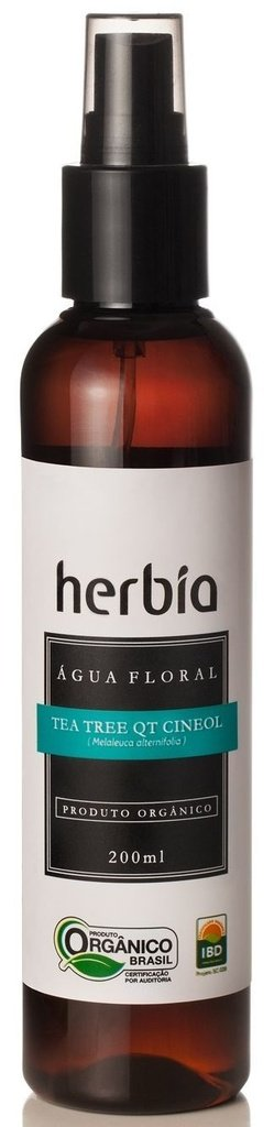 Herbia Água Floral de Tea Tree QT Cineol Orgânica 200ml