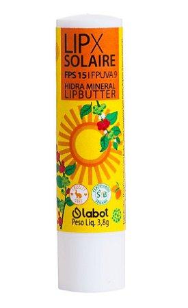 Labot Lipx Solaire FPS 15 Hidratante e Protetor Labial 3,8g