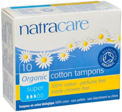 Natracare Absorvente Interno Super 10 un