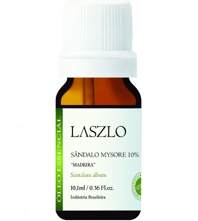 Laszlo Óleo Essencial de Sândalo Mysore Diluído 10% 10,1ml