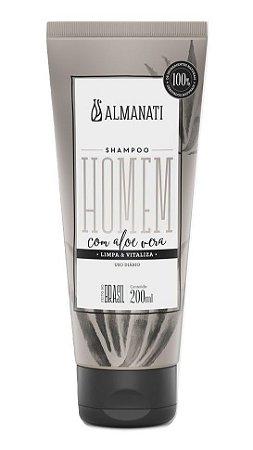 Almanati Homem Shampoo com Aloe Vera 200ml