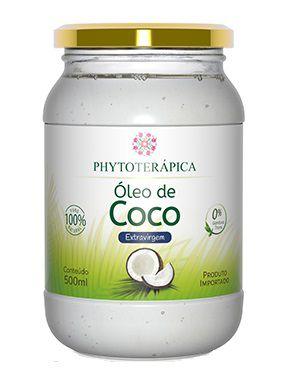 Phytoterápica Óleo de Coco Extravirgem Orgânico