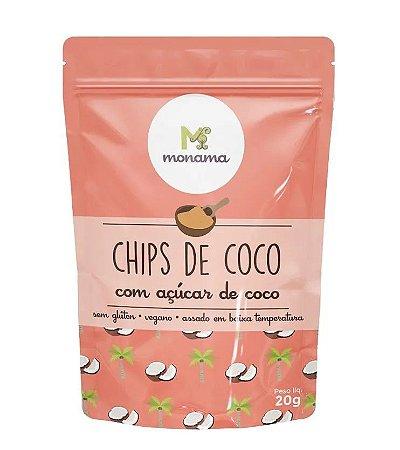 Monama Chips de Coco com Açúcar de Coco 20g