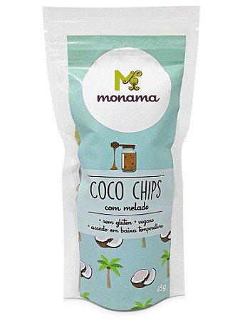 Monama Coco Chips com Melado 45g