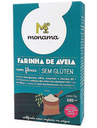 Monama Farinha de Aveia Sem Glúten 220g