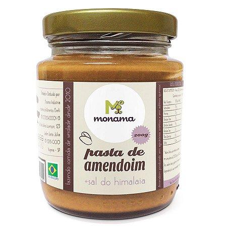 Monama Pasta de Amendoim com Sal do Himalaia 200g (vence em 16/12)