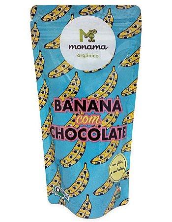 Monama Banana com Chocolate Orgânico