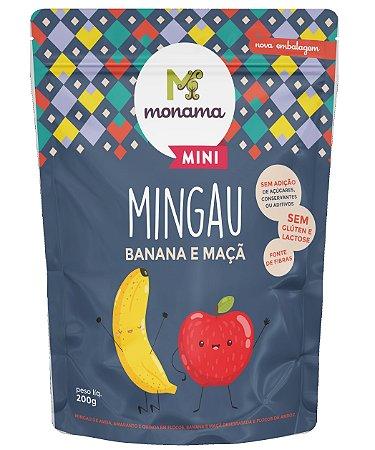 Monama Mini Mingau Banana e Maçã Sem Glúten 200g