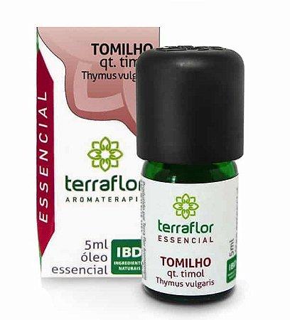 Terra Flor Óleo Essencial de Tomilho QT Timol 5ml