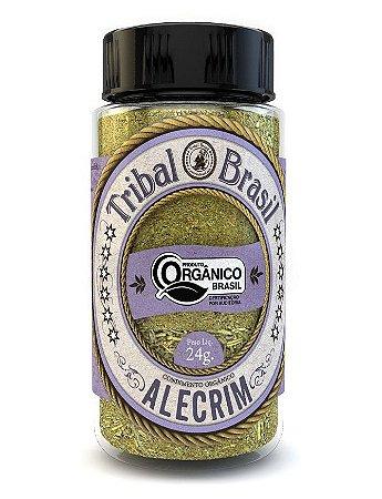 Tribal Brasil Alecrim Condimento Puro Orgânico 24g