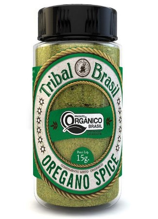 Tribal Brasil Orégano Spice Condimento Misto Orgânico 15g