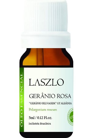 Laszlo Óleo Essencial de Gerânio Rosa (Selvagem) 5ml