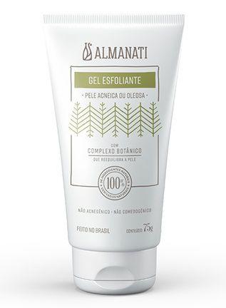 Almanati Gel Esfoliante Facial Pele Oleosa e Acneica 75g