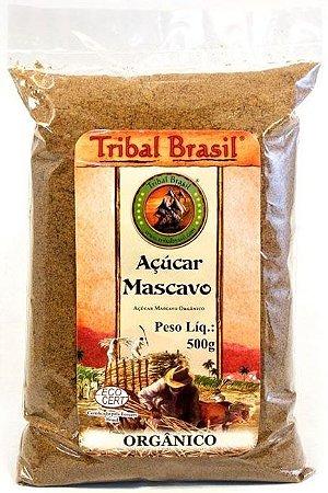 Açúcar Mascavo Orgânico - Pacote 500g - Tribal