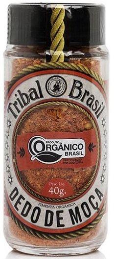 Pimenta Dedo de Moça Orgânica 40g - Tribal