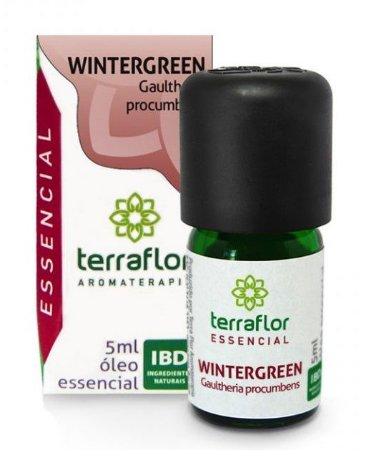 Terra Flor Óleo Essencial de Wintergreen 5ml