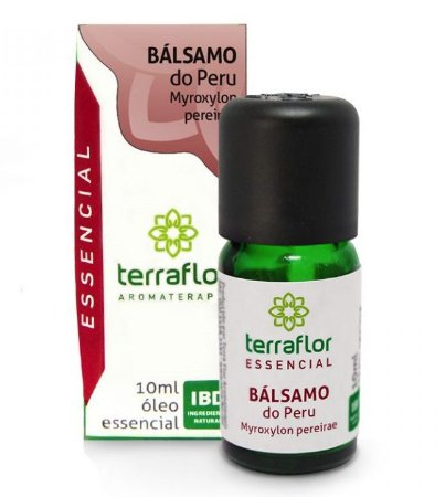Terra Flor Óleo Essencial de Bálsamo do Peru 10ml