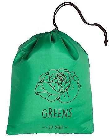 So Bags Greens Verde - Folhas, Vegetais e Ervas