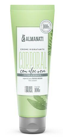Almanati Creme Hidratante Especial para Áreas Secas com Aloe Vera  100g