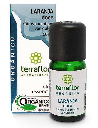 Terra Flor Óleo Essencial de Laranja Doce Orgânico 10ml