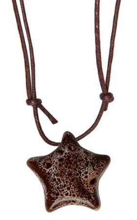Colar Aromatizador Pessoal de Cerâmica - Estrela