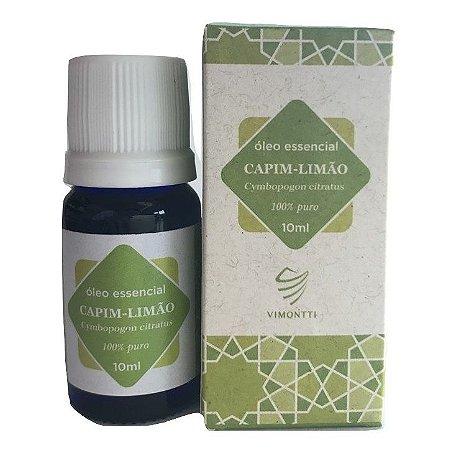 Vimontti Óleo Essencial de Capim Limão (Lemongrass) 10ml