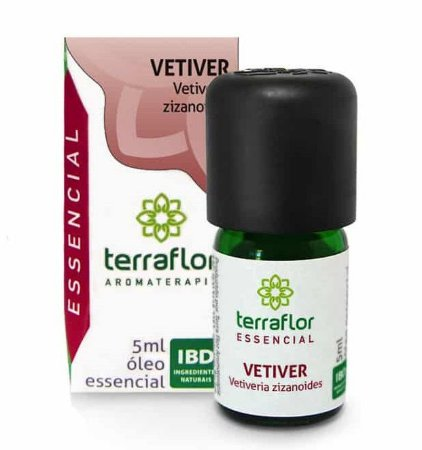 Terra Flor Óleo Essencial de Vetiver 5ml