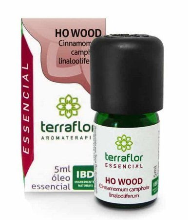 Terra Flor Óleo Essencial de Ho Wood 5ml