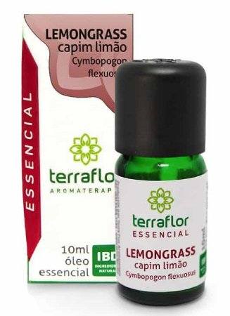 Terra Flor Óleo Essencial de Lemongrass 10ml