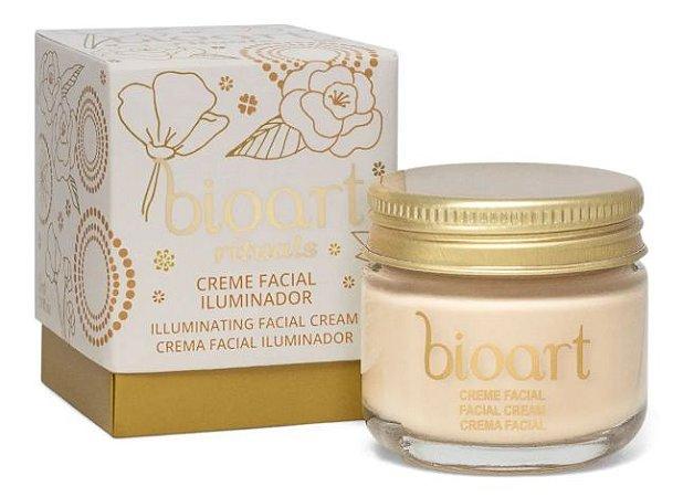 Bioart Creme Facial Iluminador com Argila Dourada 30ml