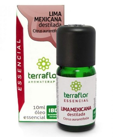 Terra Flor Óleo Essencial de Lima Mexicana 10ml