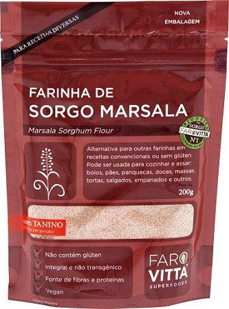 Farovitta Farinha de Sorgo Marsala 200g