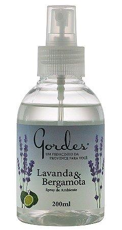 Gordes Lavanda e Bergamota Spray de Ambiente 200ml