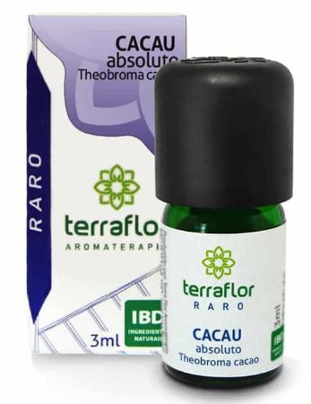 Terra Flor Óleo Absoluto de Cacau 3ml