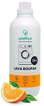 Positiv.a Lava Roupas Concentrado Natural