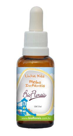 Bio Florais Kids Medos Infantis 37ml