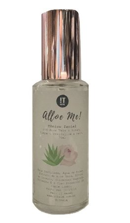It balm Tônico Facial Alloe Me com Aloe Vera e Rosas 70ml