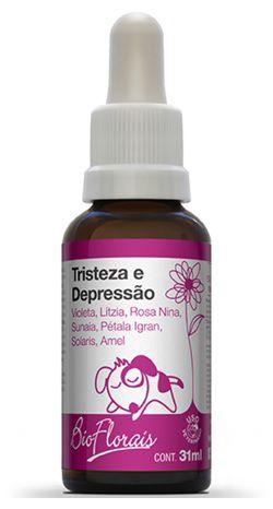 Bio Florais Pet Tristeza e Depressão 37ml