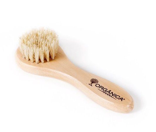 Orgânica Escova Facial com Cerdas Naturais 1un