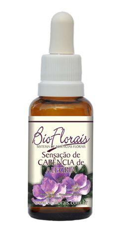 Bio Florais Sensação de Carência de Alegria 37ml