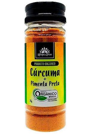 Kampo de Ervas Cúrcuma com Pimenta Preta Condimento Misto Orgânico 70g