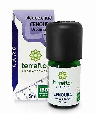 Terra Flor Óleo Essencial de Cenoura (Sementes) 5ml