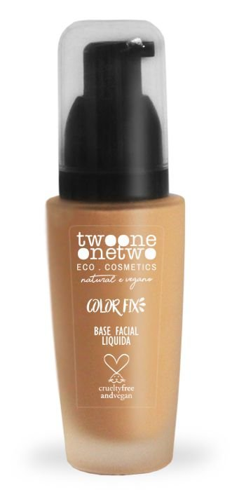 Twoone Onetwo Base Facial Líquida Color Fix - Cor 02 (Rose Beige) 30g
