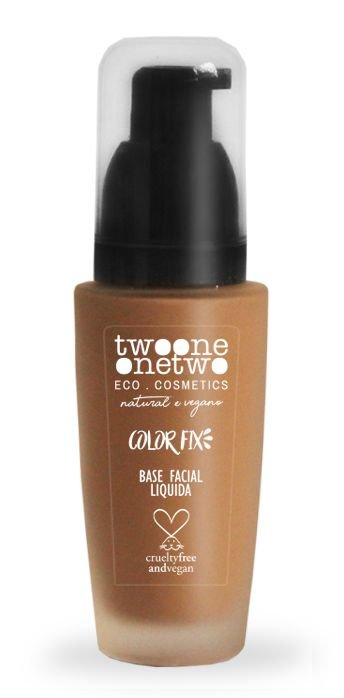 Twoone Onetwo Base Facial Líquida Color Fix - Cor 05 (Golden Brown) 30g